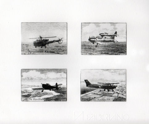 Four Plate Print