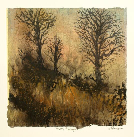 Misty Bogscape 1 print