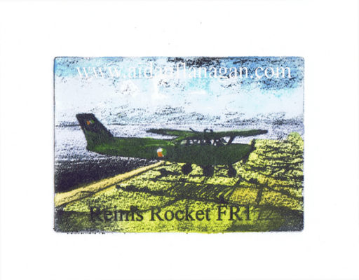 Reims Rocket FR172 (Single Image Print)