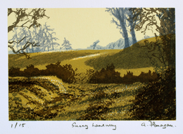 Sunny Laneway.