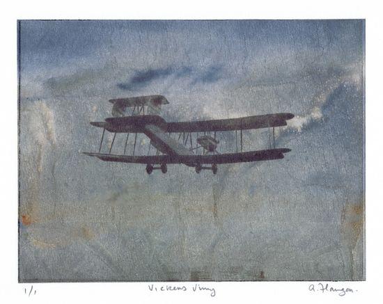 Vickers Vimy art
