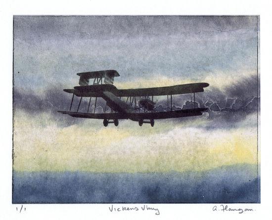 Vickers Vimy print