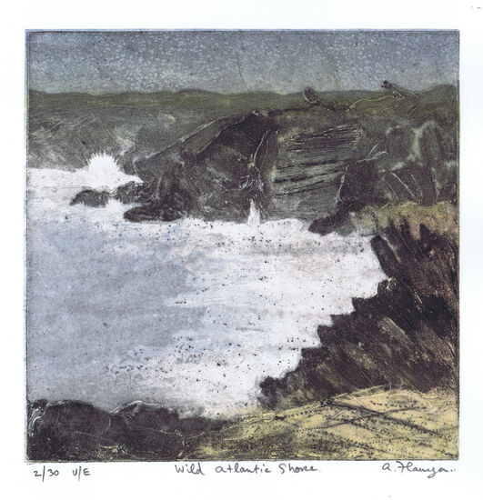 Wild Atlantic Shore Print