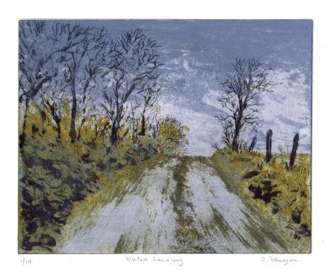 Winter Laneway