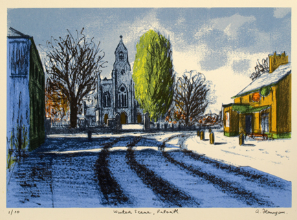 Winter Scene, Ratoath.