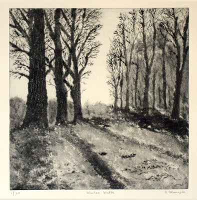 """Winter Walk"" Print"