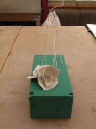 8. Porcelain and Floral Foam