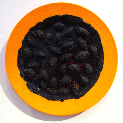 Scorched Plum Plate
