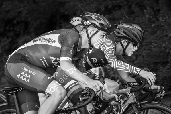 1st - Photojournalism - Tamsin Bailey - 'Neck and Neck, Otley Cycle Races'