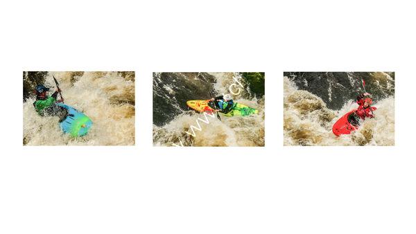 1st Place - Three on a Theme - Derek Middleton - White Water
