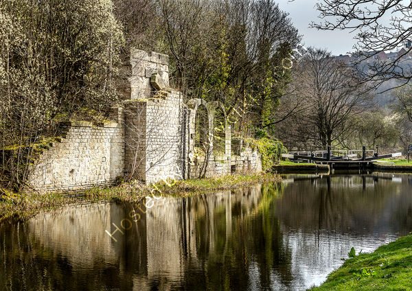 Commended - Bill Butcher - Derelict Mill, Calder Canal, Elland.