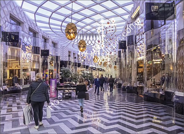 Commended - Jean Middleton - Shopping in Style Victoria Gate Leeds