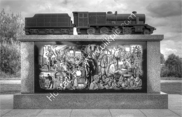 Commended - Peter Evans - Railway Workers Memorial at Nation Memorial Arboretum