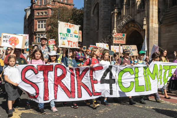 Commended Tamsin Bailey - Climate Strike Leeds