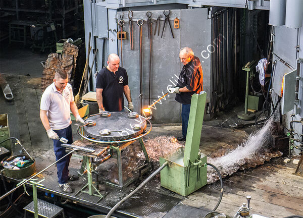 Highly Commended - Derek Middleton - Glass Foundry workers