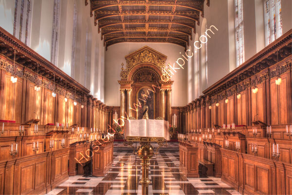 Highly Commended - Peter Evans - Trinity College Chapel, Cambridge