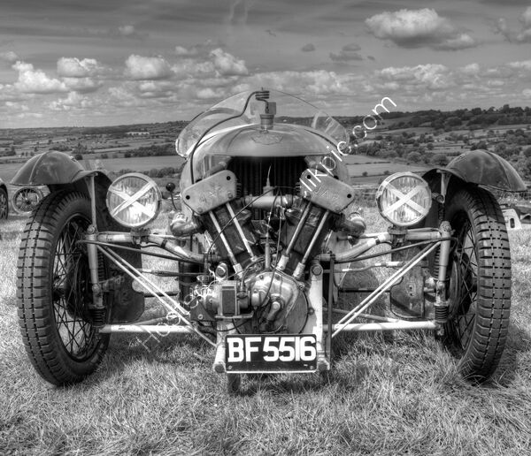 Highly Commended - Peter Evans - Vintage Morgan 3 Wheeler Sports Car