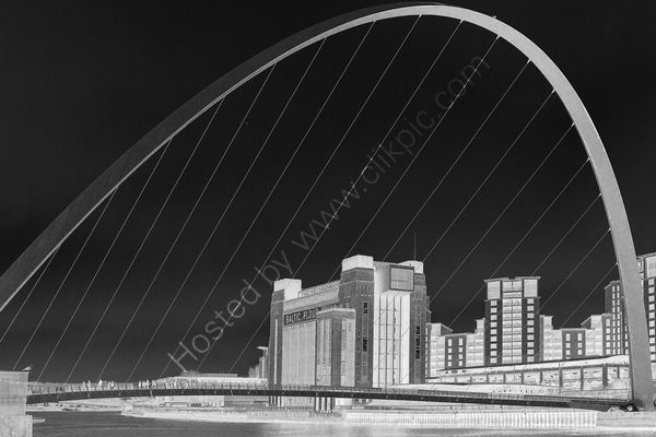 Highly Commended Chris Owens - The Baltic & Millenium Bridge Gateshead