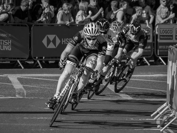 Highly Commended  Tamsin Bailey -  The Last Lap, Otley Cycle Races
