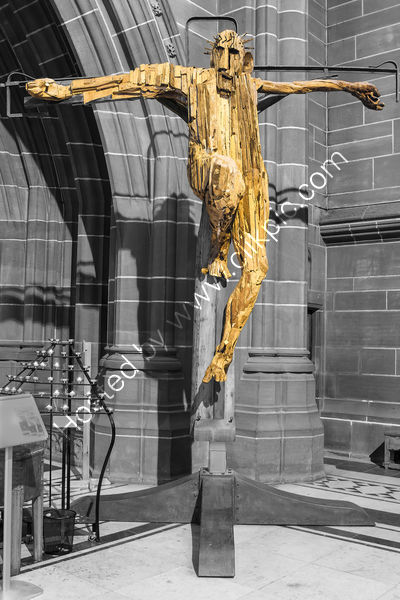 Commended - Chris Owens - Outraged Christ, Liverpool Anglican Cathedral