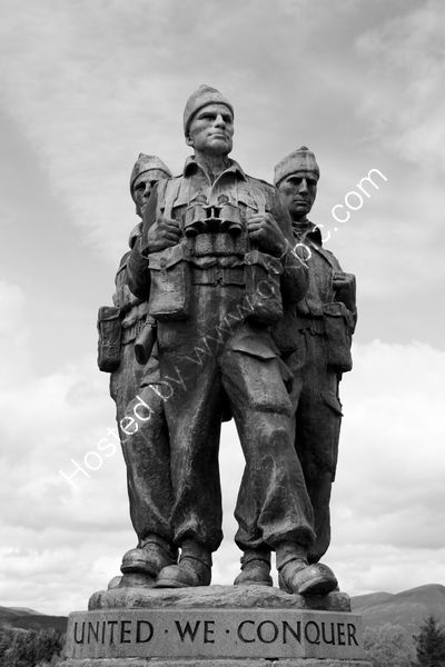Peter Evans - The Commando Memorial - Lochaber