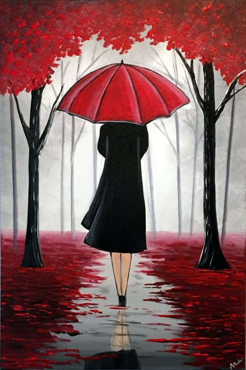 Lady With The Umbrella 3
