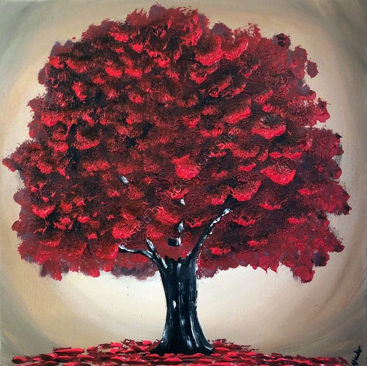 magical red tree 3
