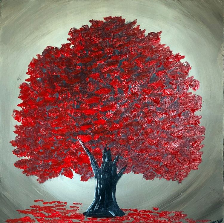magical red tree 5