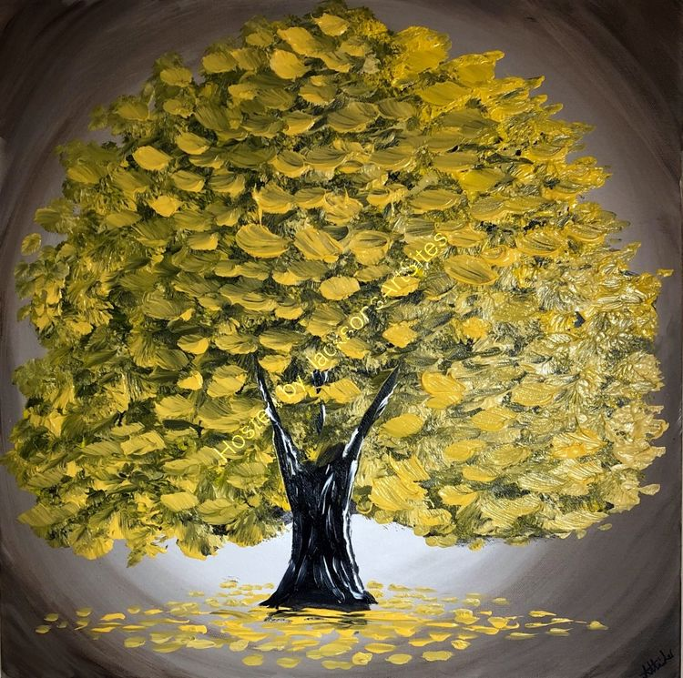 magical yellow tree