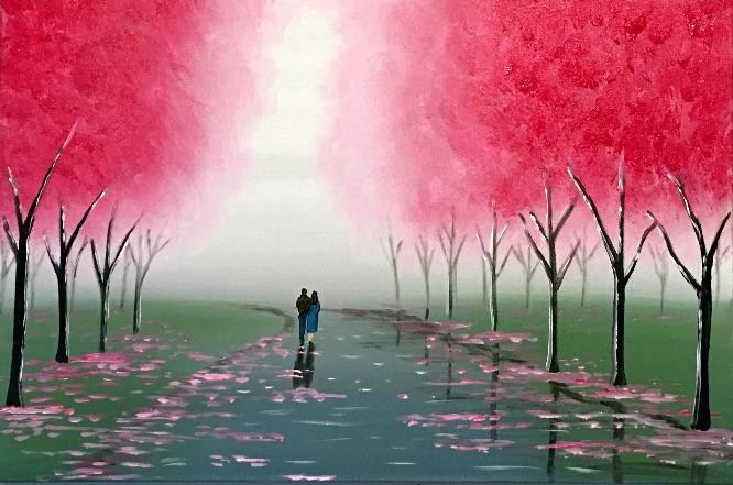 misty blossom walk 2
