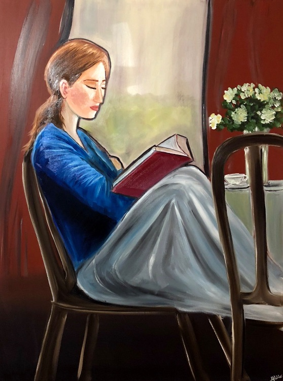 my reading moment