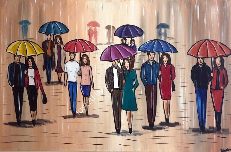 raining in the city 2