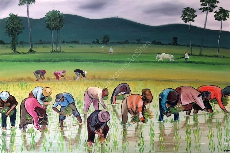 the rice planters