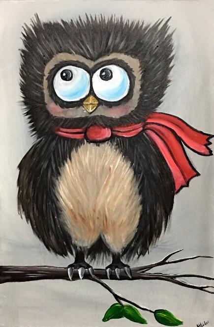 winter owl - £95