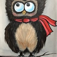 winter owl - £95