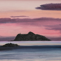 Hestan Island Sunset