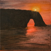 Sunset, Durdle Door