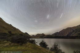 Star Trails Moke Lake