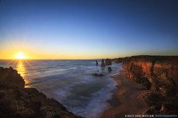 Sunset at Port Campbell National Park
