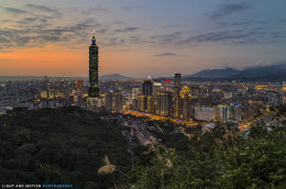 """Taipei Sunset"""