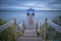 The Blue Boathouse