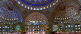 Sultan Ahmed Mosque (Blue Mosque) - Interior