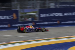 Daniel Ricciardo Turn 1, Singapore GP 2014