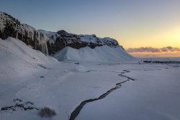 Seljalandfoss Sunset