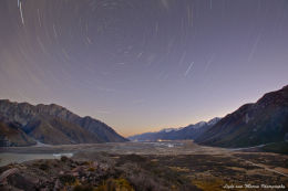 Star Trails, Tasman Lookout