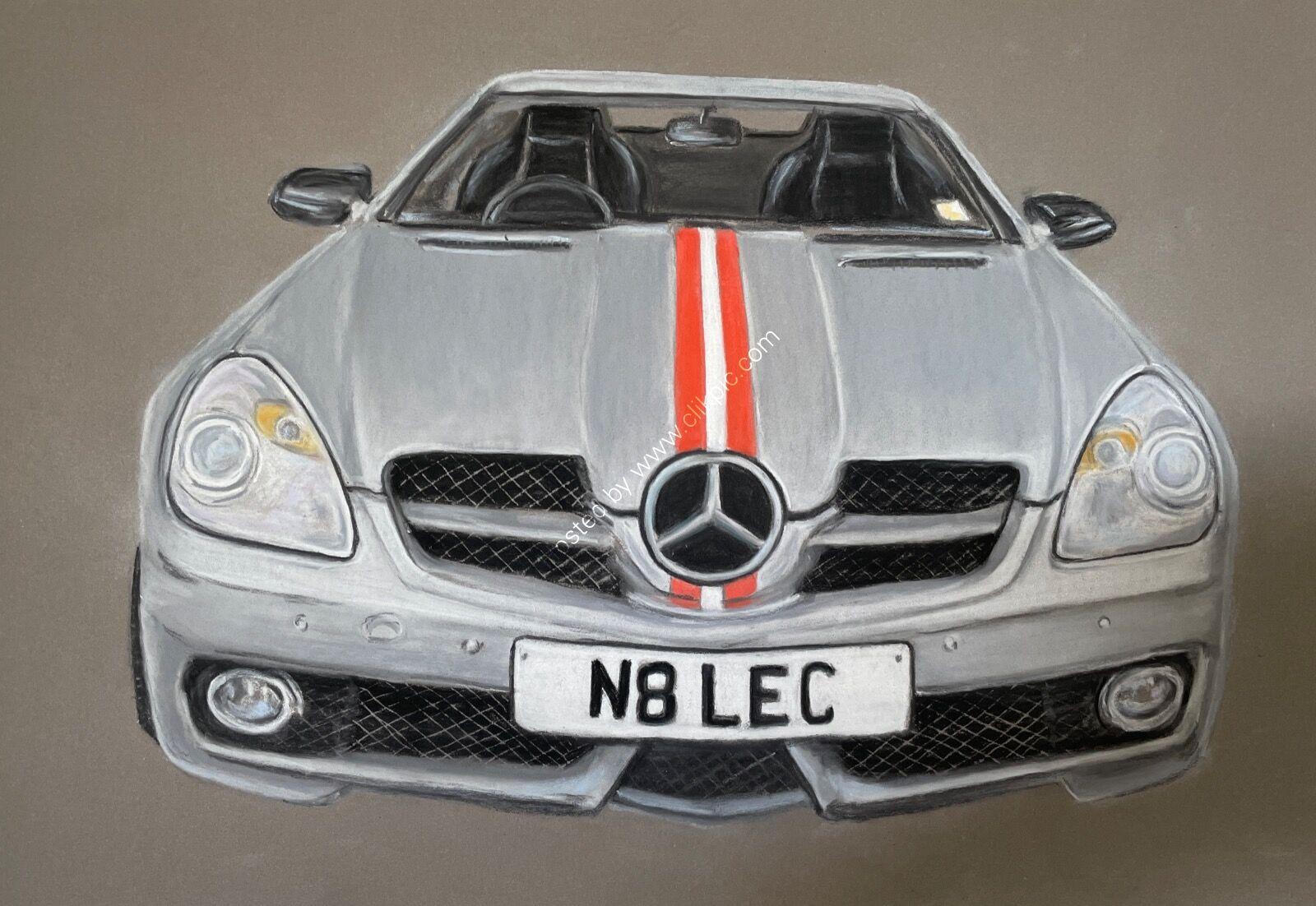Mercedes 300 SLK 3 litre V6