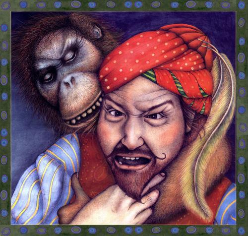 Ape (book illustration).