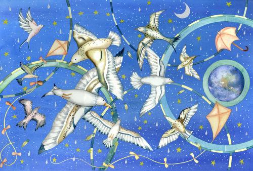 Blue Sky Birds (Norfolk and Norwich University Hospital Commission)