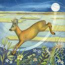 Leaping Deer (print)