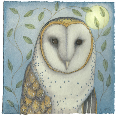 Portrait of an Owl (print)